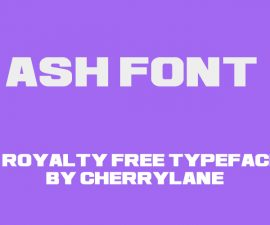 Ash Font Family Free Download