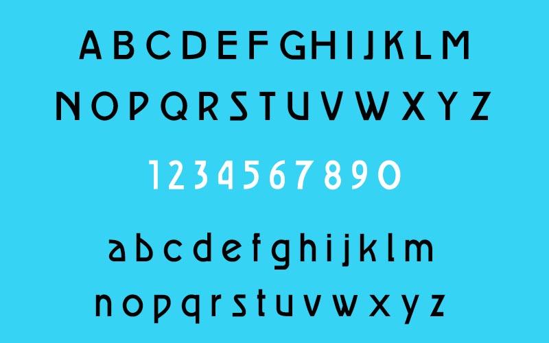 Auber CF Font Family Download