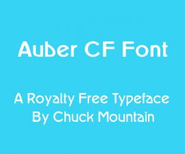 Auber CF Font Family Free Download