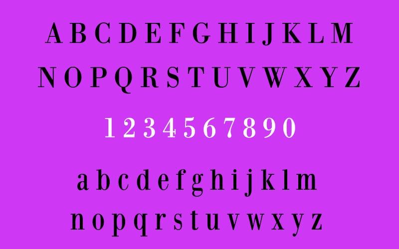 Bodoni XT Font Family Download