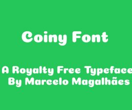 Coiny Font Family Free Download