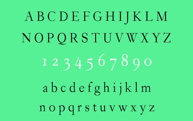 Garogier Font Family Download