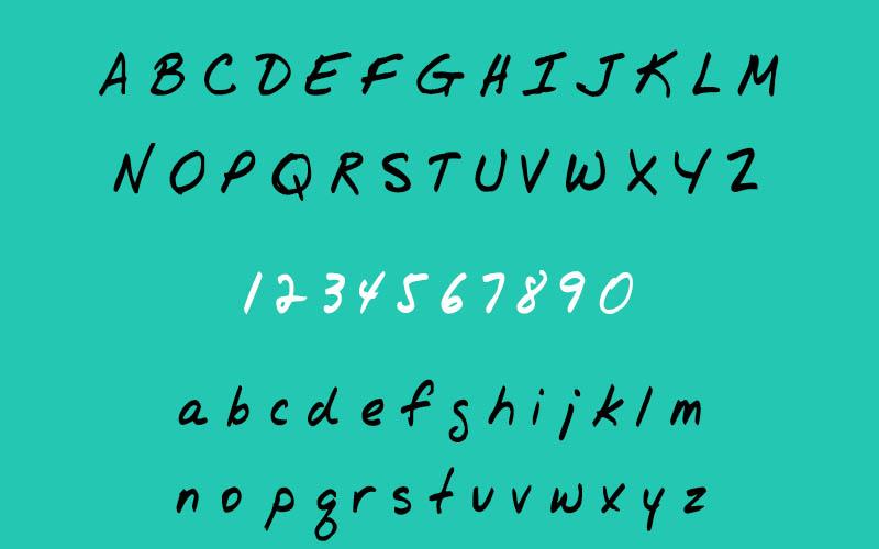 Jr Hand Font Free Download