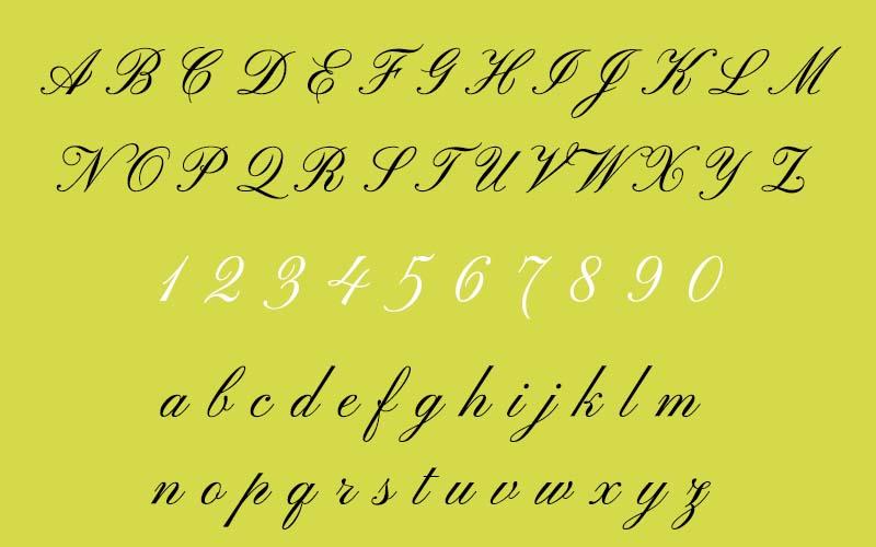 Pinyon Script Font Free Download