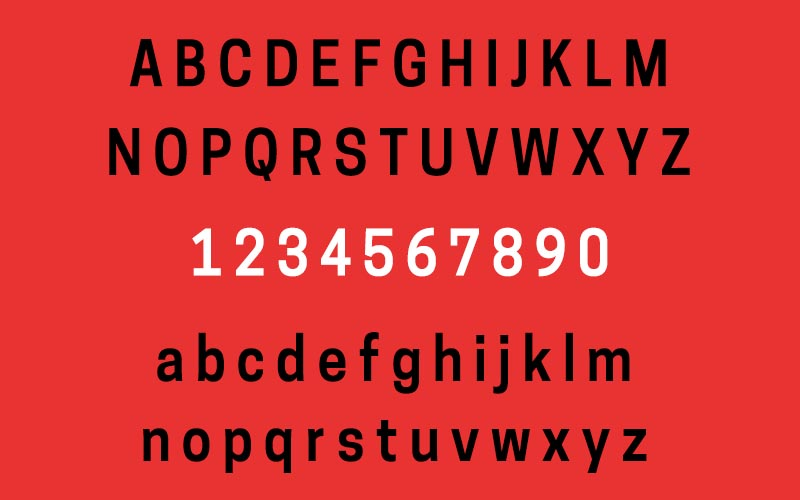 Tanohe Sans Font Family Download