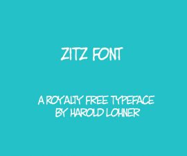ZITZ Font Family Free Download