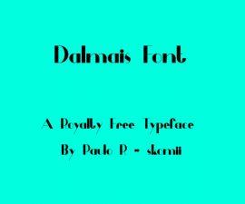Dalmais Font Family Free Download