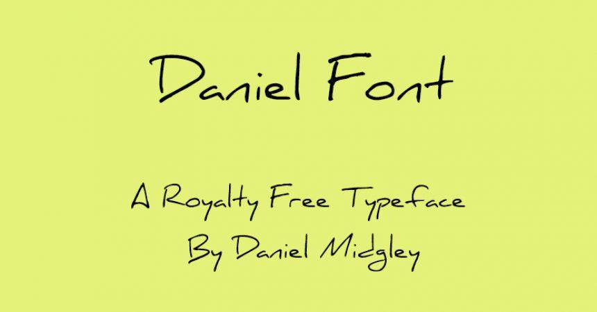 Daniel Font Family Free Download