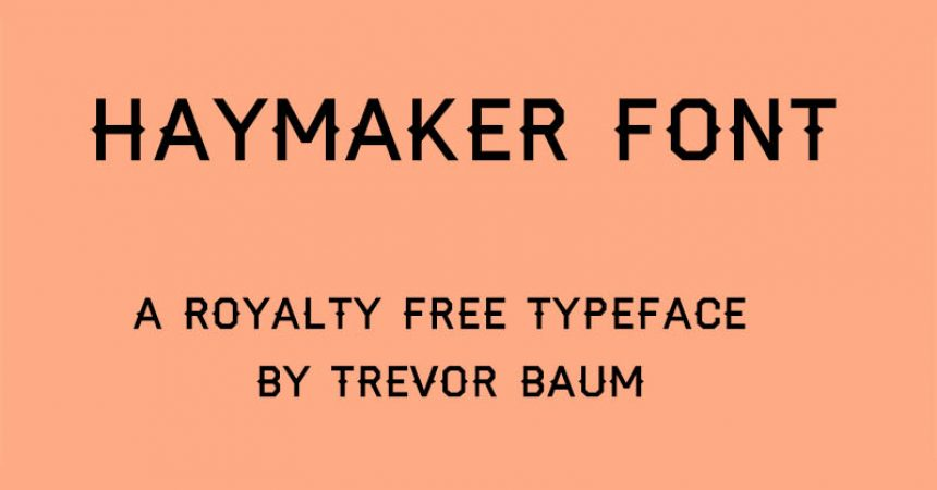 Hayamaker Font Family Free Download