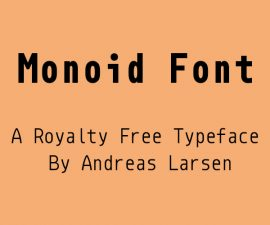 Monoid Font Family Free Download