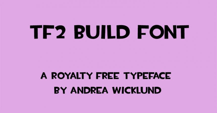 Tf2 Build Font Family Free Download
