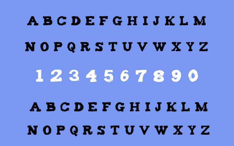 Tiza Font Family Download