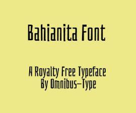 Bahianita Font Family Free Download
