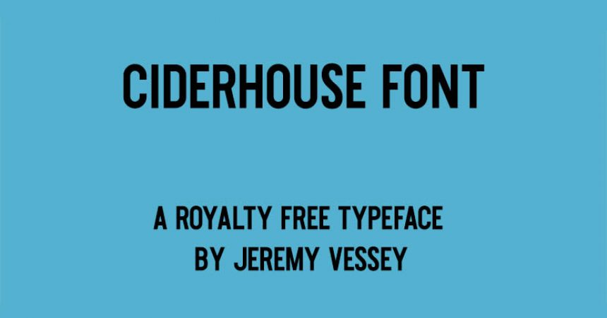 Ciderhouse Font Family Free Download