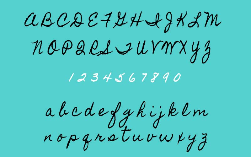 Homemade Apple Font Family Download
