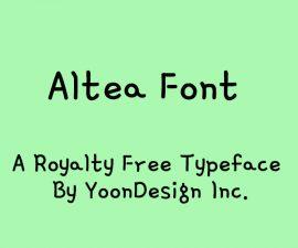 Gamja Flower Font Family Free Download