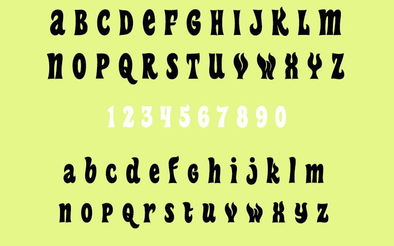 Heavy Heap Font Family Download