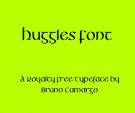 Huggles Font Family Free Download