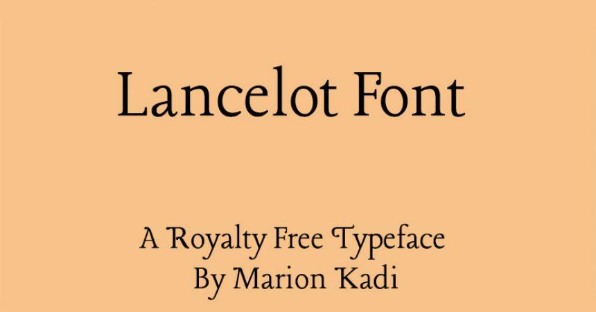 Lancelot Font Family Free Download