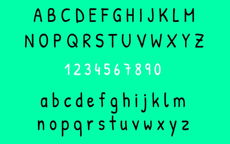 Patrick Hand Font Family Download