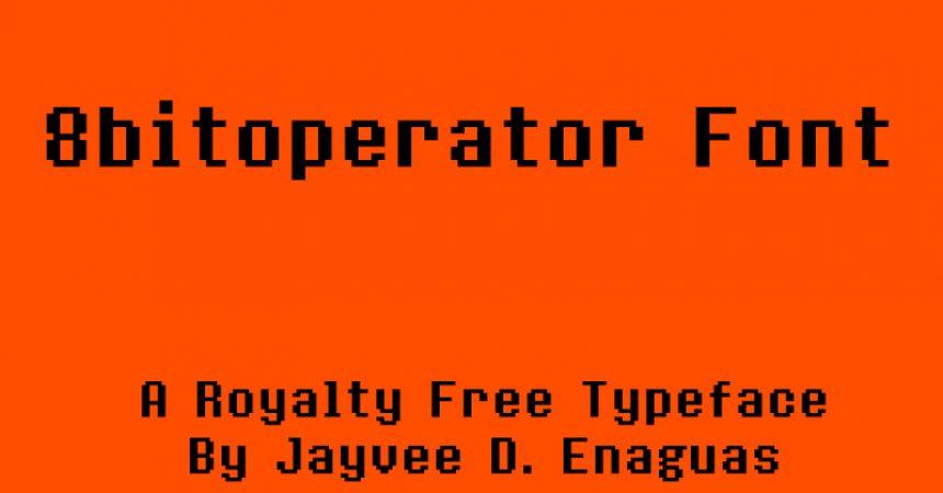 8bitoperator Font Family Free Download