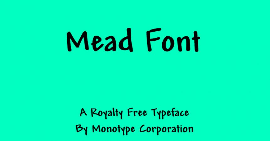 Mead Font Family Free Download