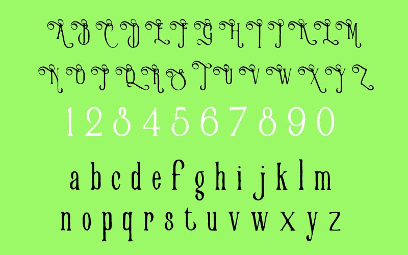 Victorian Parlor Font Family Download